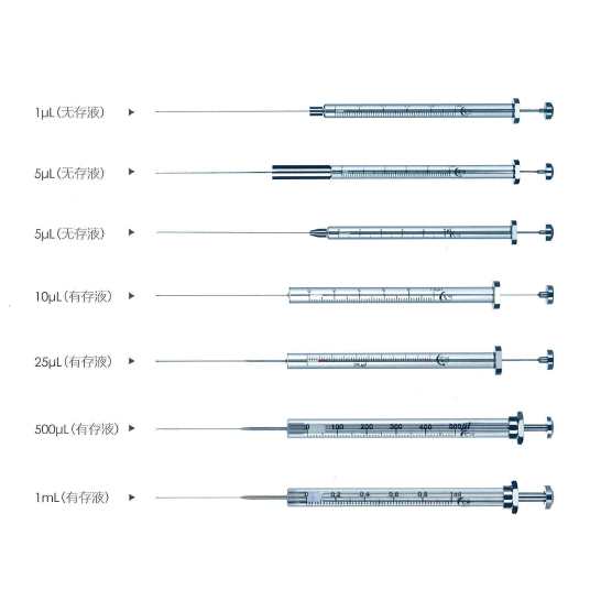 气相(尖头)微量进样器