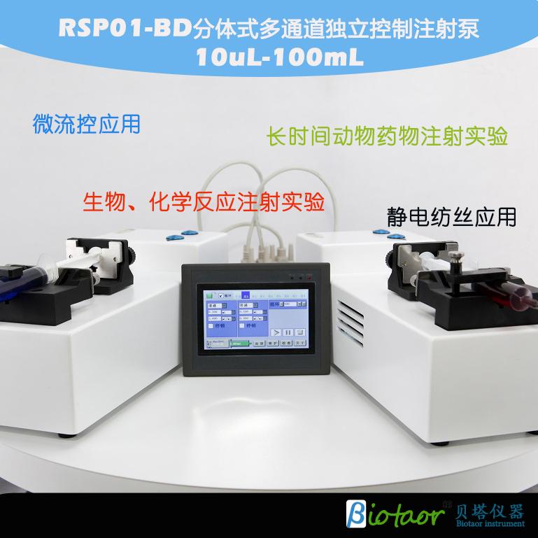 RSP01-BD 分体式、多通道独立控制注射泵